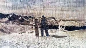 grabado láser fotografía madera