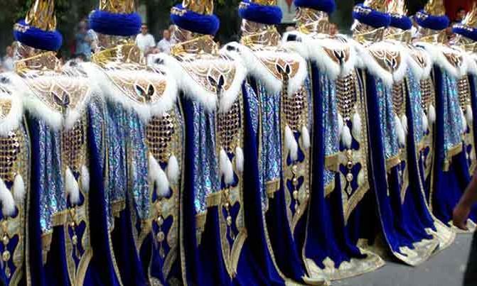 Bordado Escuadra especial Abbasies fiestas moros y cristianos Villena