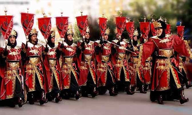 Bordado Escuadra especial Abencerrajes fiestas moros y cristianos Villena