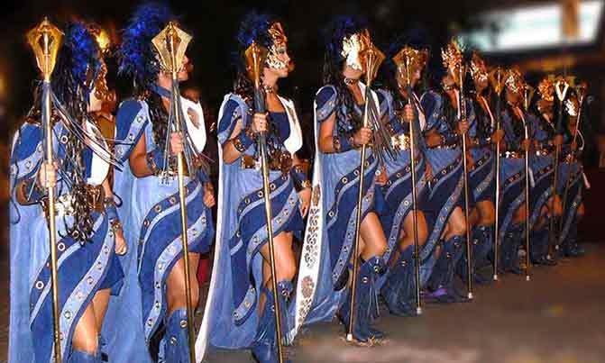 Bordado Escuadra especial Almocadenas fiestas moros y cristianos Villena