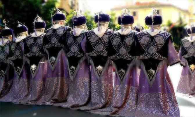 Bordado Escuadra especial Almoravides fiestas moros y cristianos Villena