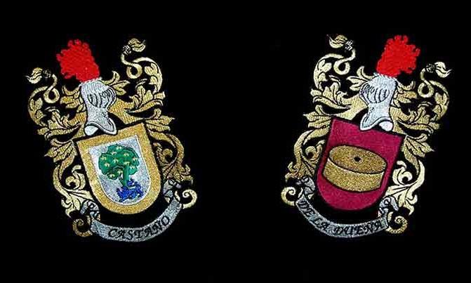 bordado escudos heráldicos heráldica
