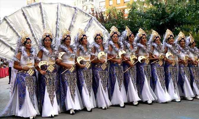 Bordado Escuadra especial Huri fiestas moros y cristianos Villena