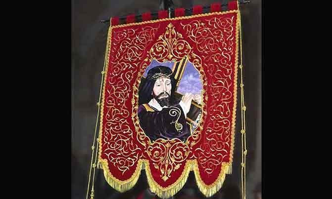 Bordado estandarte Padre Jesús Semana Santa