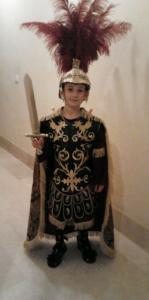 Peto romano cofradía del tercio romano semana santa cieza los armaos